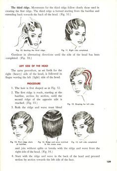 Finger Wave Tutorials Google Search