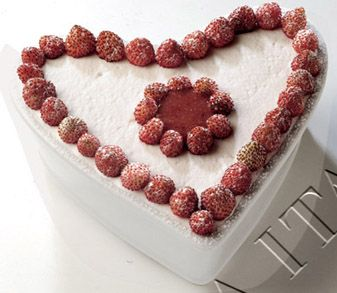 cuore di panna e fragoline