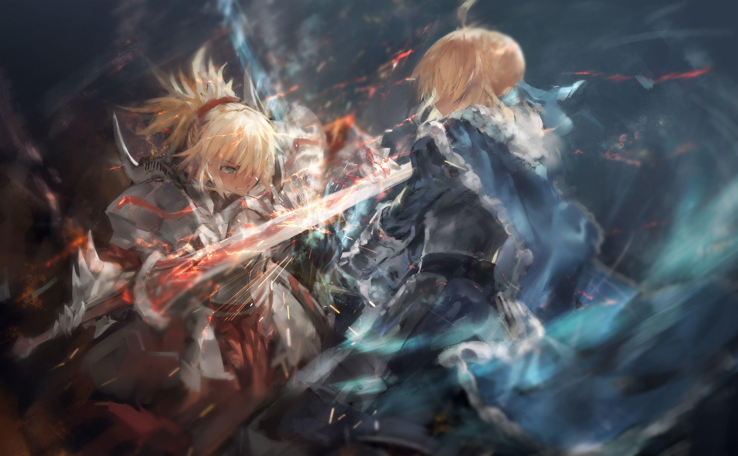 Fate Apocrypha Mordred Arturia Fgo モードレッド Fate