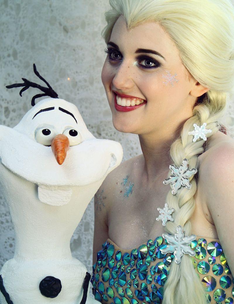 Disney frozen makeup look by httpwww