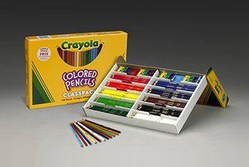 Crayola Colored Pencils 240 Count 12 Color Classpack Includes 12