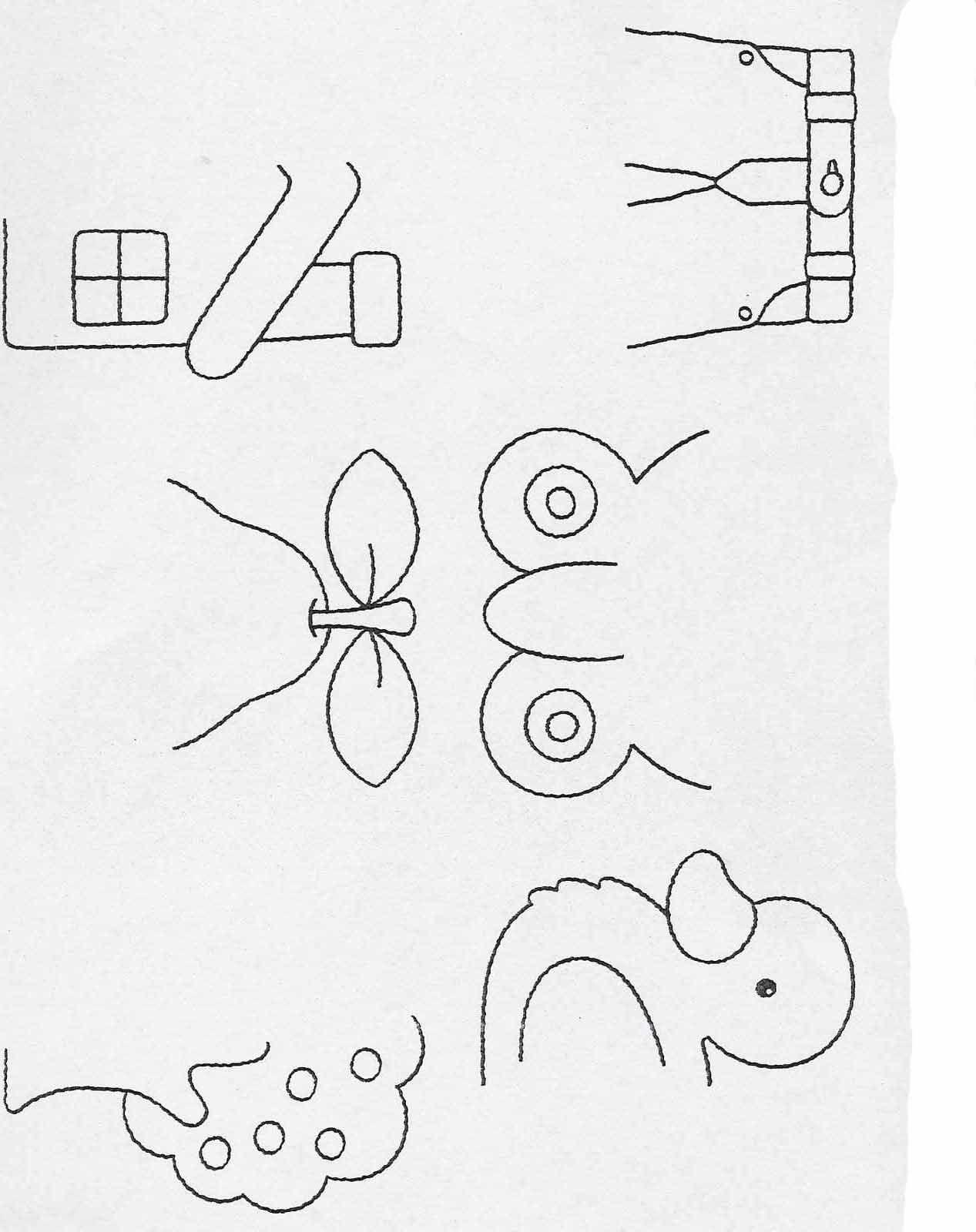 Actividades Para Ninos De Preescolar Completar Y Colorear