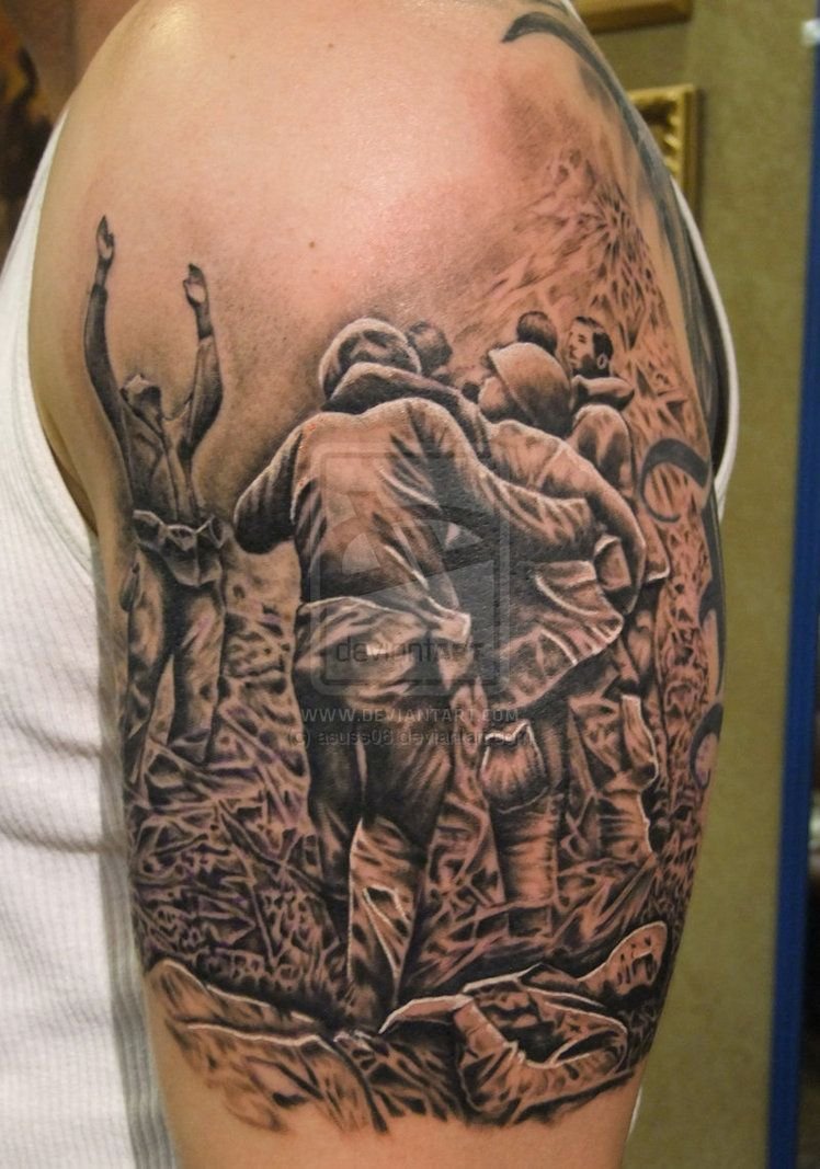 Military tattoos designs and ideas page 17 angel pin up girl tattoo