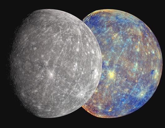 Mercury By Nasa Messenger Abcnews Go Com Mercury Planet