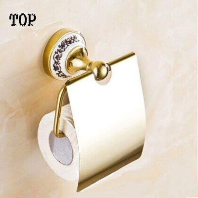 Paper Towel Holder Toilet Paper Holder Roll Box Fashion Antique Gold Tissue Box Of Bathroom Toilet Paper Box Toilet Paper Holder Toilet Toilet Roll