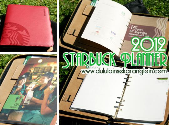 Starbucks 2013 Organizer/Planner