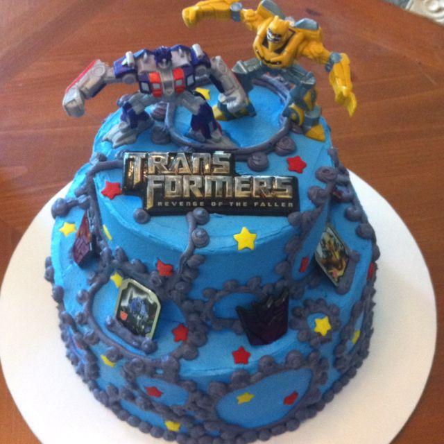 Transformers Cake Transformers Birthday Parties