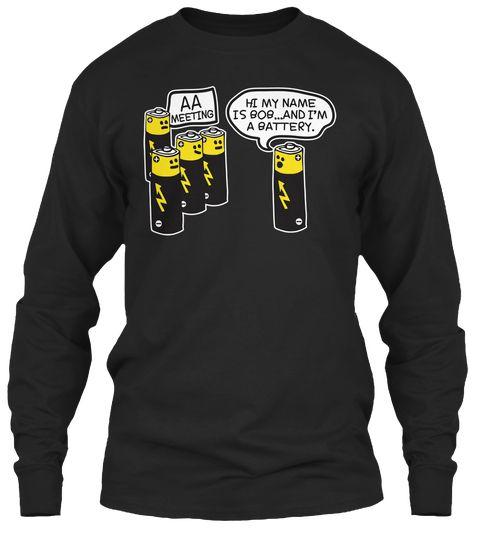 729d2b0fa8 Aa battery funny tshirt | Outfits/Clothes | Mens tops, Shirts, Aa ...