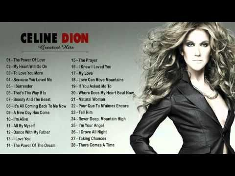 Best Of Celine Dion Collection Top 30 Biggest Songs Of Celine