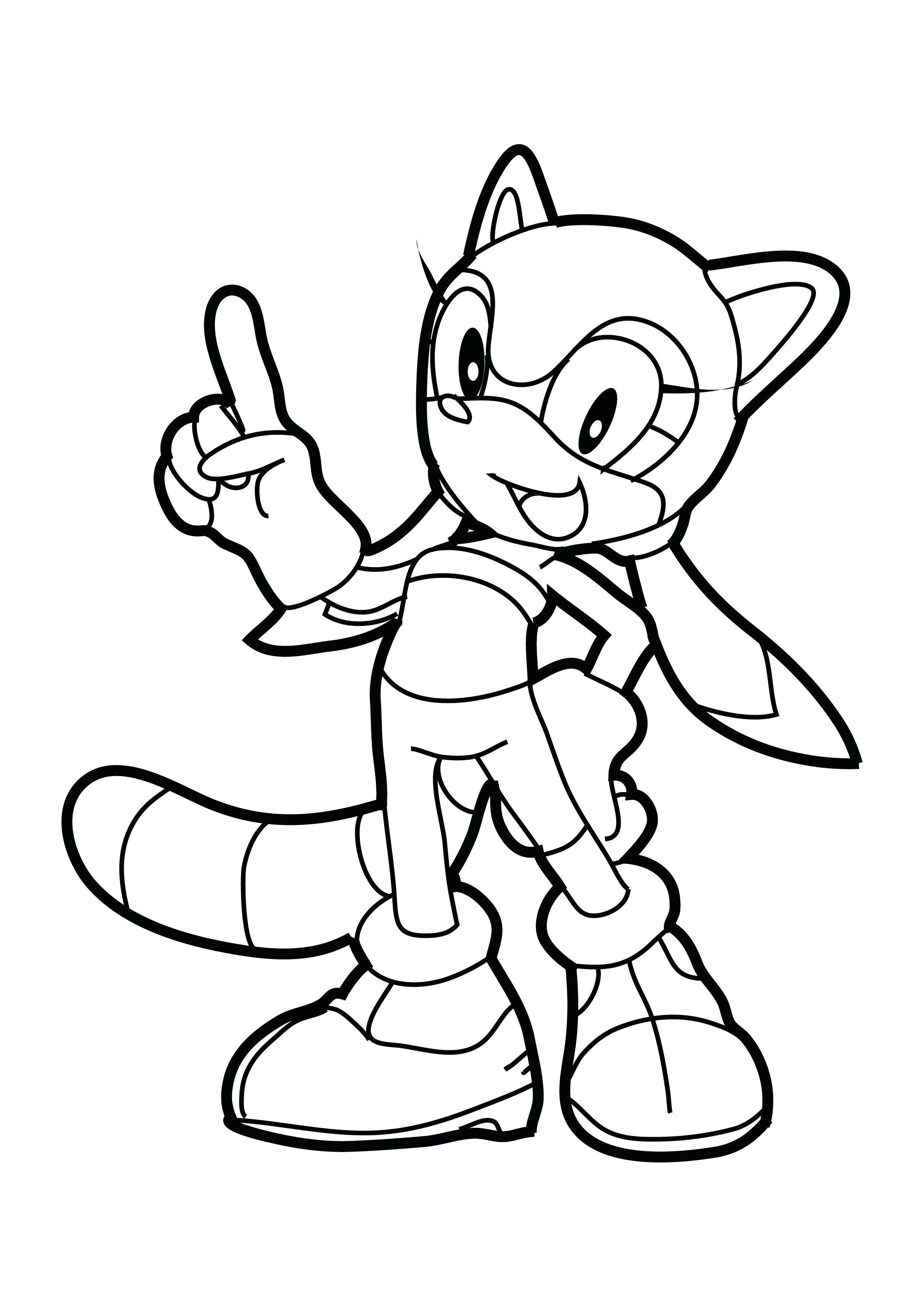 Sonic The Hedgehog Printables Coloring Pages Sonic 02 Cartoons