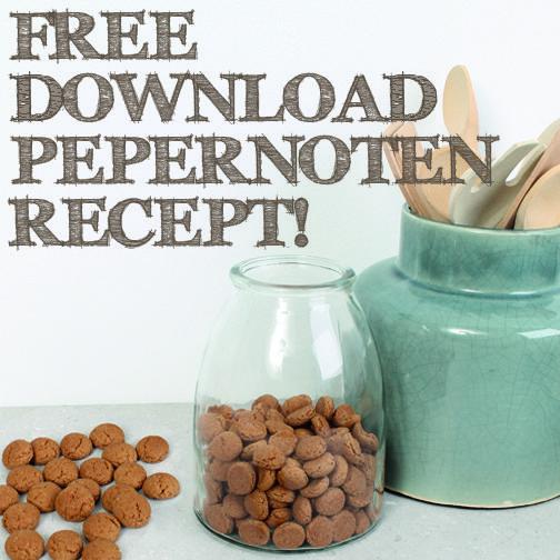 DAG 2: Free Download Pepernoten recept. Printen, boodschappen doen en morgenmiddag pepernoten bakken! http://bit.ly/1zd2hrG