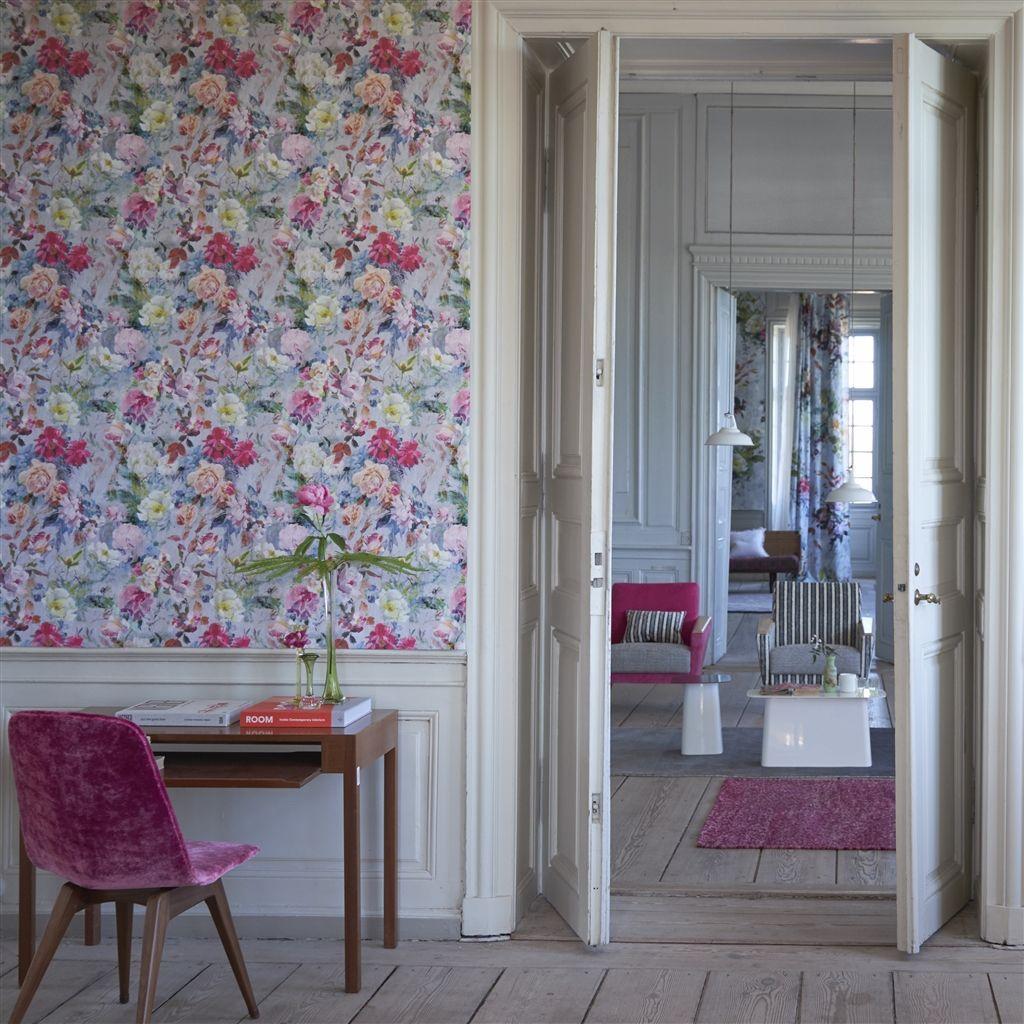 sweet home wallpaper designs. Marianne Fuchsia Wallpaper  Designers Guild Home Sweet