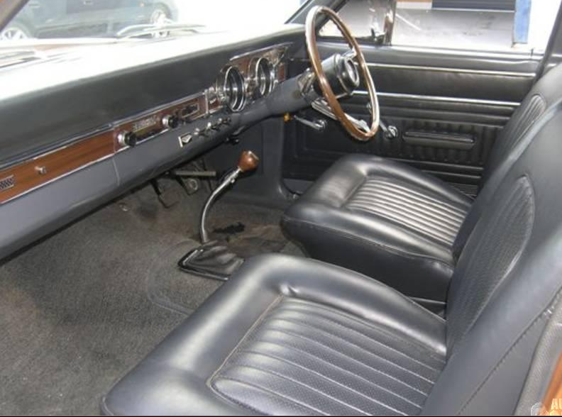 Ford Falcon Xr Gt Front Interior Dashboard