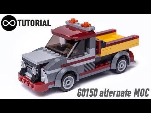 Lego Volkswagen T1 Bus Concept Moc Instructions Youtube Lego