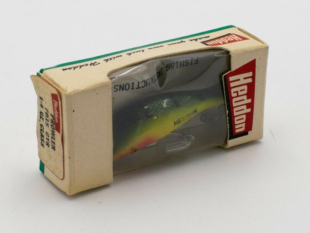 Vintage fishing lure Heddon Prowler GYR