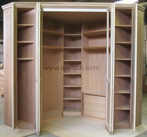 Cabina armadio angolare cerca con google idee cabina - Armadio con cabina angolare ...