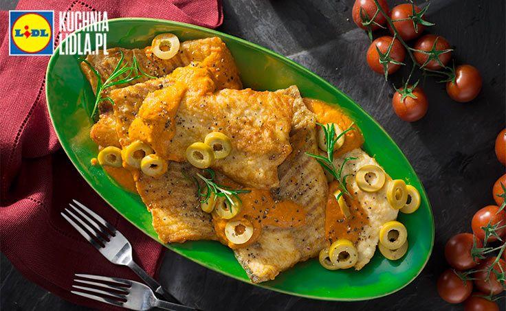 Jesiotr W Sosie Oliwkowym Przepis Recipe Food Meat Chicken