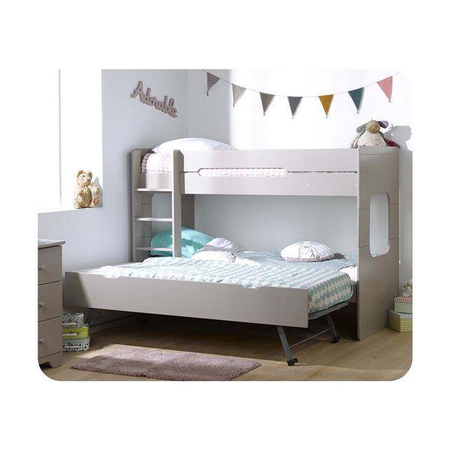 lits superpos s pour enfant spark aux lignes modernes et d 39 une tr s grande robustesse le lit. Black Bedroom Furniture Sets. Home Design Ideas