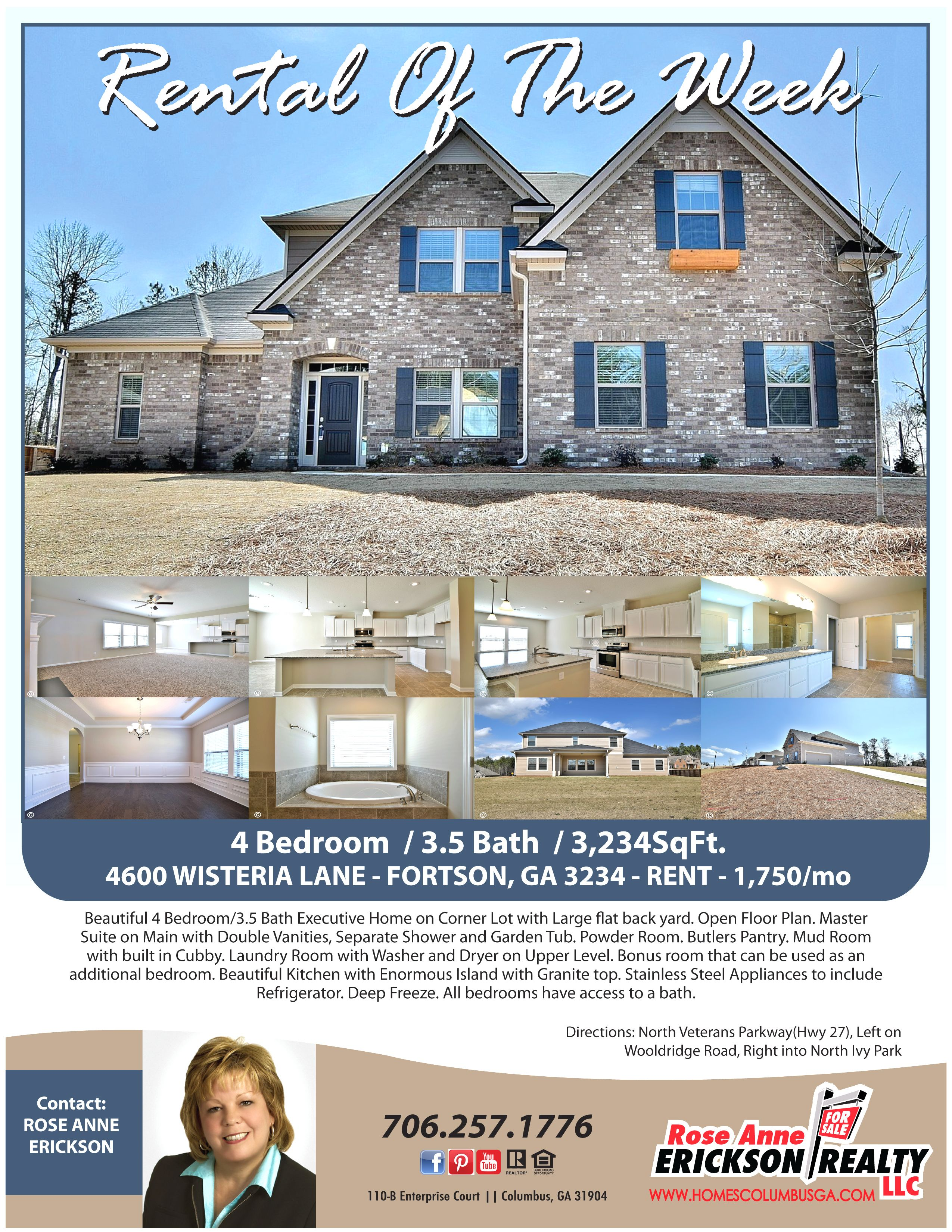 Look At This Amazing Rental In Fortson Ga 4br 3 5ba Like New And Energy Star Certified Beautiful Bedrooms Master Room Executive Suites