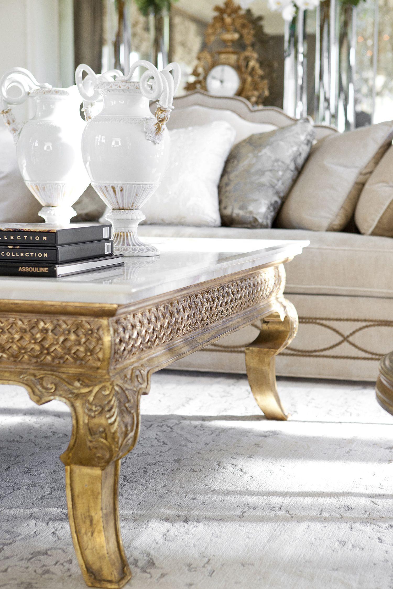 Living Room Detail At Maison De Ville A Parisian Pied A
