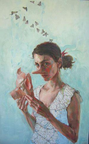 Jennifer Balkan Hidden Meaning Austin Artists Art Painting