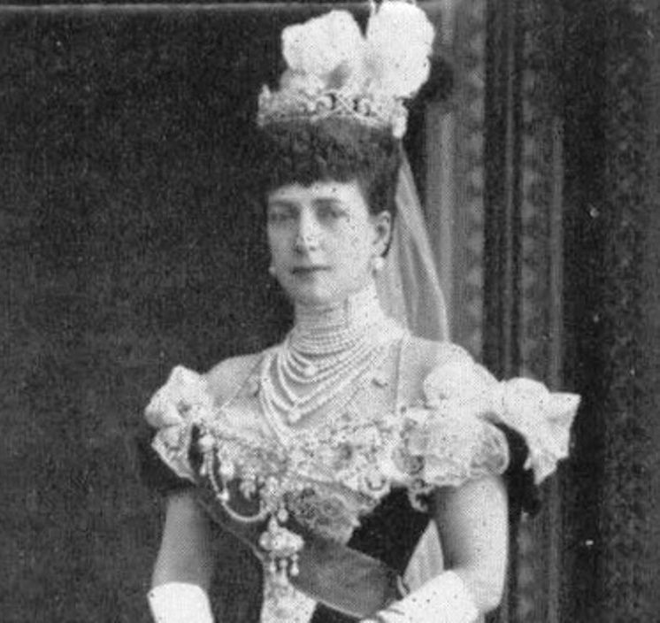 Queen Alexandra in 1905