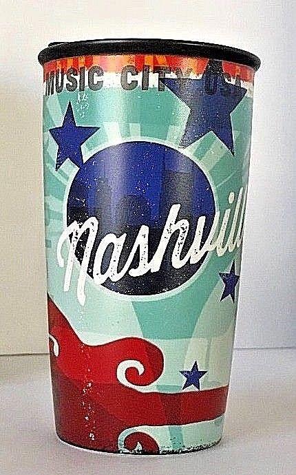 Double Ozs Cup Wall 12 Starbucks Traveler Tumbler Nashville Ceramic srdhQt