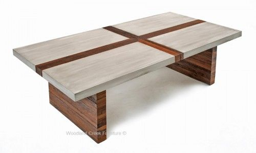 An Urban Chic Dining Table Made With Reclaimed Wood In A Contemporary Linear Design And Finished Gray Wash Modern Rustic Custom