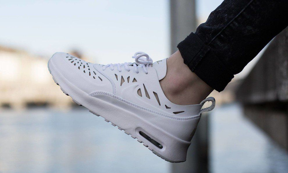 "new product d19b6 bf19d Nike Air Max Thea Joli ""Cut Out"" Triple White"
