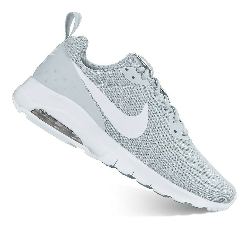 Nike Air Max Motion Women's Athletic Shoes Color (Gray White)