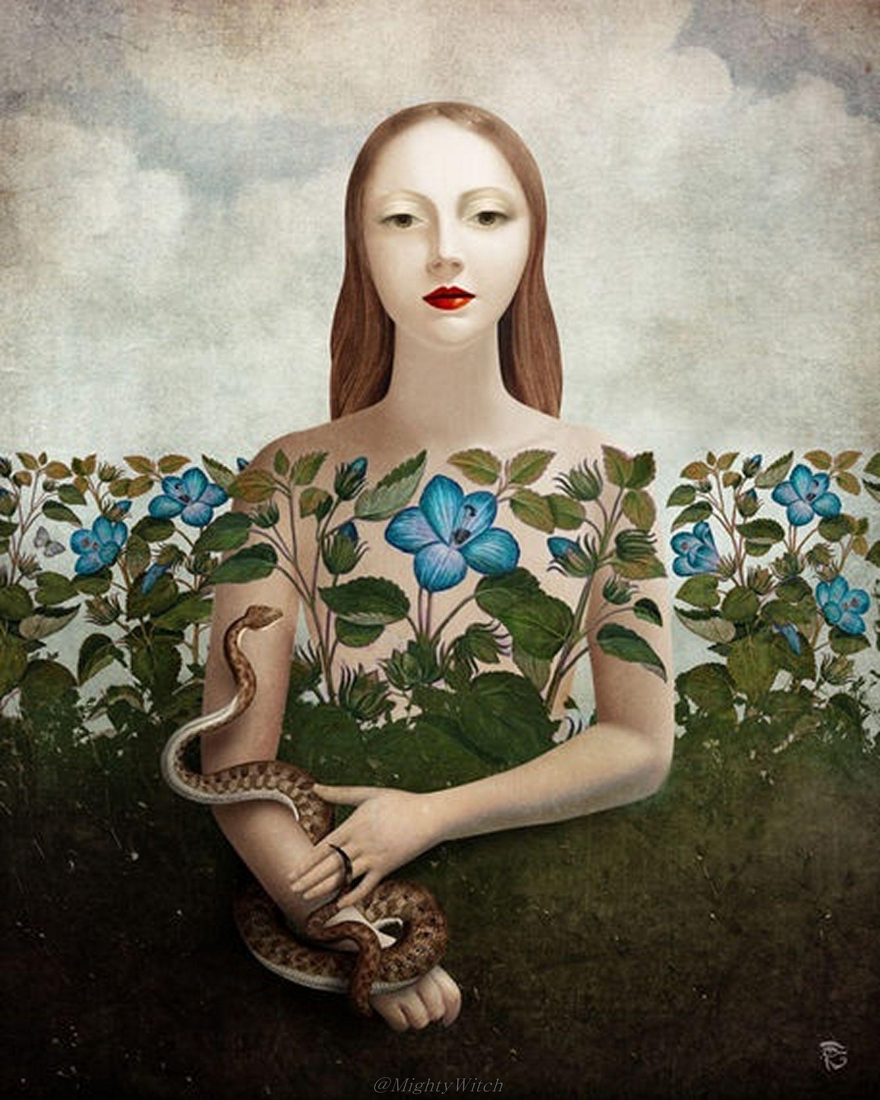 Eva and The Garden by Christian Schloe.