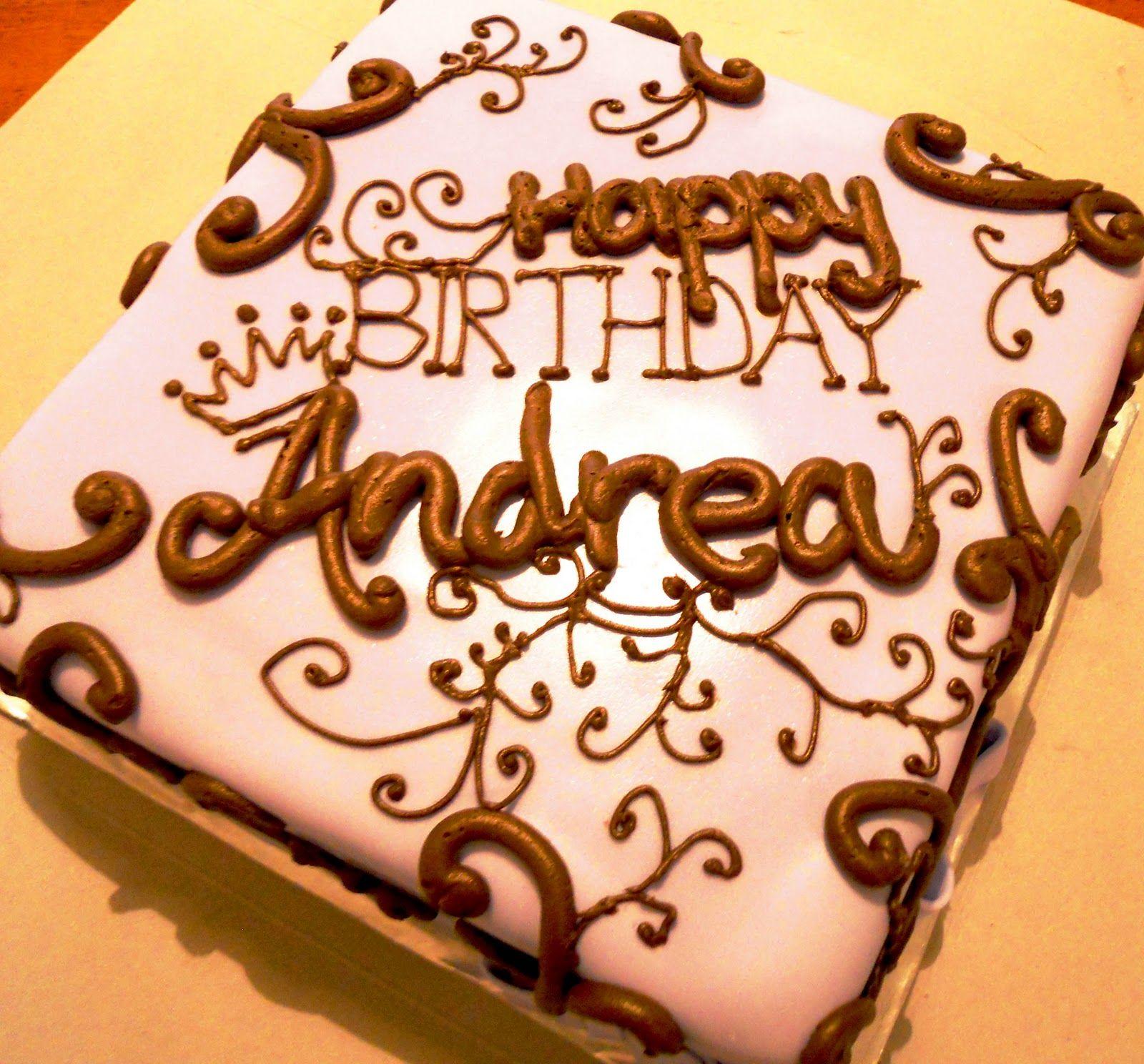 Happy Birthday Andrea Happy Birthday Andrea Happy Birthday