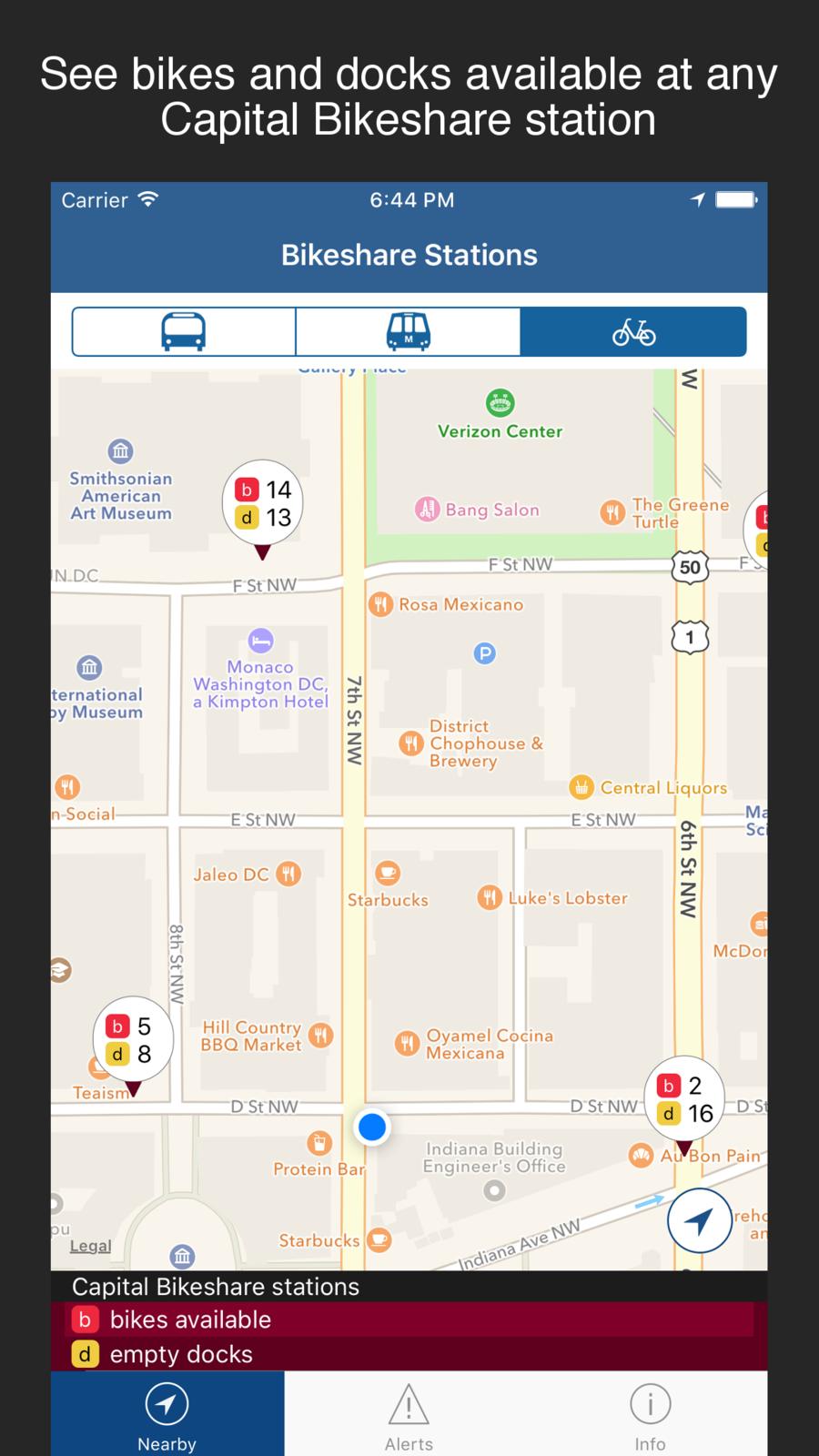 DC Mass Transit DC metro, bus, bikeshare, circulator