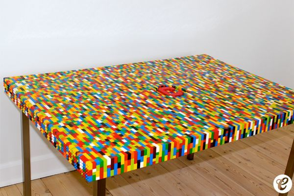 lego styled coffee table for geeky homes lego pinterest. Black Bedroom Furniture Sets. Home Design Ideas