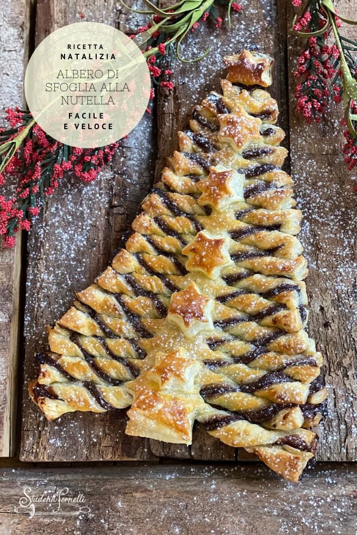 Albero Di Natale Pasta Sfoglia E Nutella.Pin Su Le Ricette Di Studenti Ai Fornelli