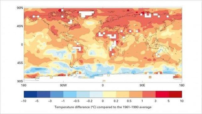 El año 2016 será más cálido que 2015