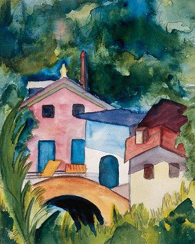 Brucke Imtessin 1925 C Fondazione Hermann Hesse Montagnola