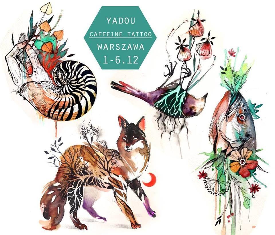 Caffeine Tattoo - Yadou