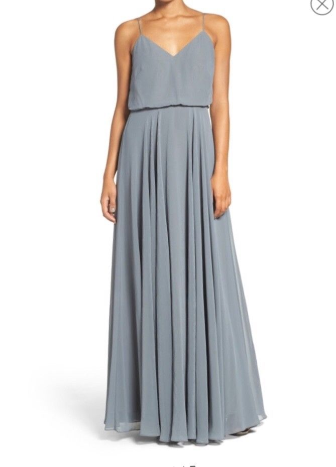 cc3595c233 Jenny Yoo Inesse bridesmaids dress in Denmark Blue- size 6 - worn once   fashion  clothing  shoes  accessories  weddingformaloccasion   bridesmaiddresses  ad ...