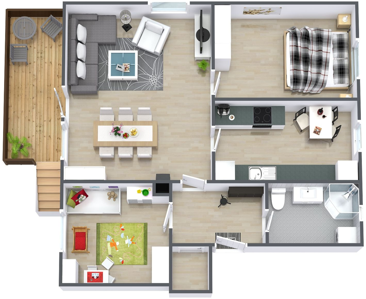d Small House Design   Floor Plans   Consider Things in     d Small House Design   Floor Plans   Consider Things in Making a Small Home Plans   Projects to Try   Pinterest   Small House Design  Small Houses and