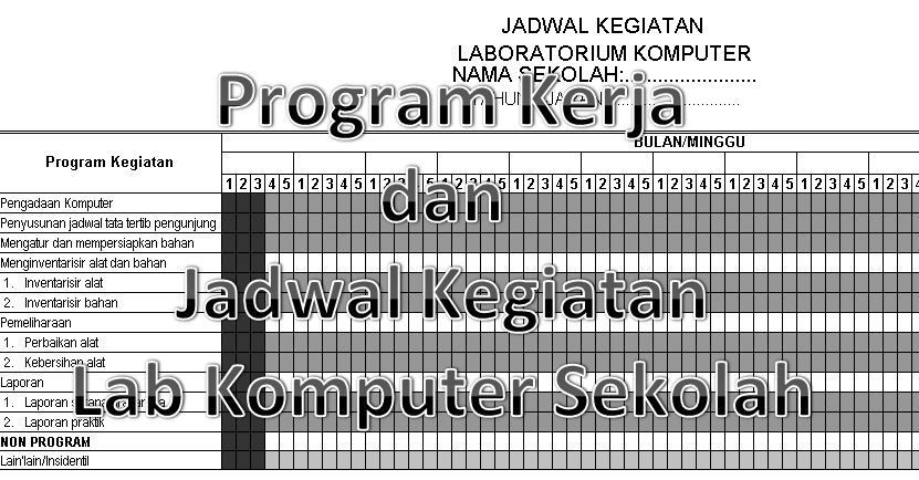 Examples Of Work Programs And School Computer Activity Schedule In 2020 School Computers School Computer Lab Microsoft Excel