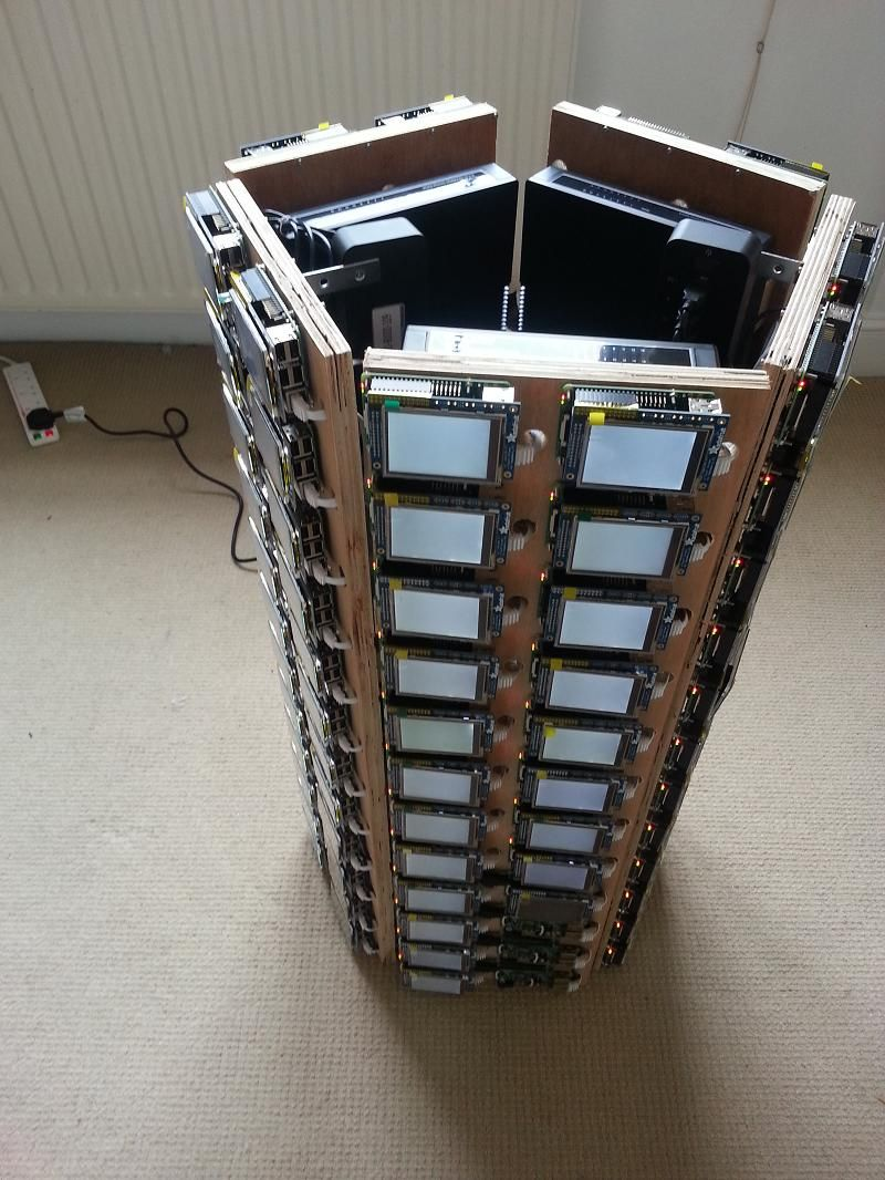 What Would You Do With A 120 Raspberry Pi Cluster