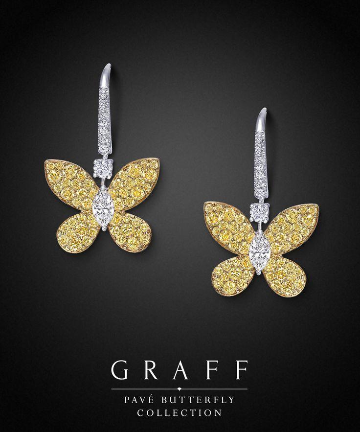Graff Pavé Butterfly Collection ❖Graff Diamonds❖