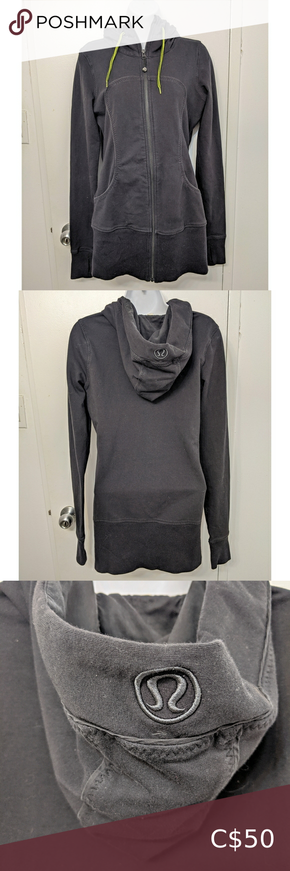Lululemon live simply jacket size 8