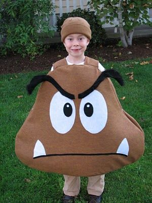 Taylor just informed me he wants to be a Goomba for Halloween - 1 year old halloween costume ideas