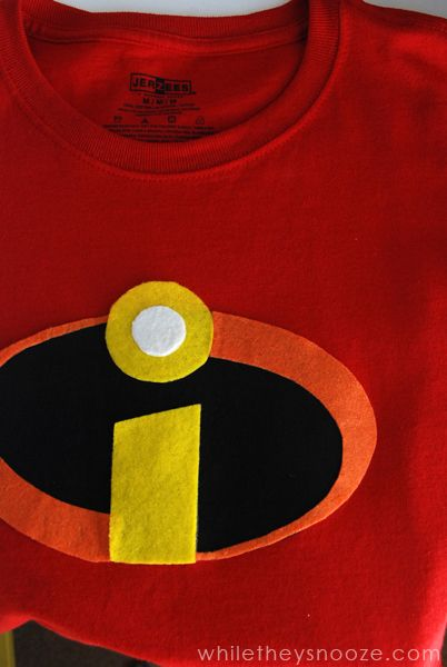 While They Snooze How To Make The Incredibles Costumes Costume Contest Diy Disney Costumeseasy