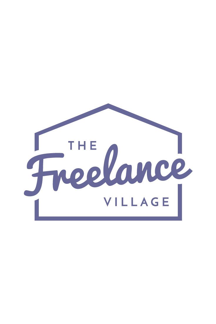 logo for the freelance village by design by cheyney full site at