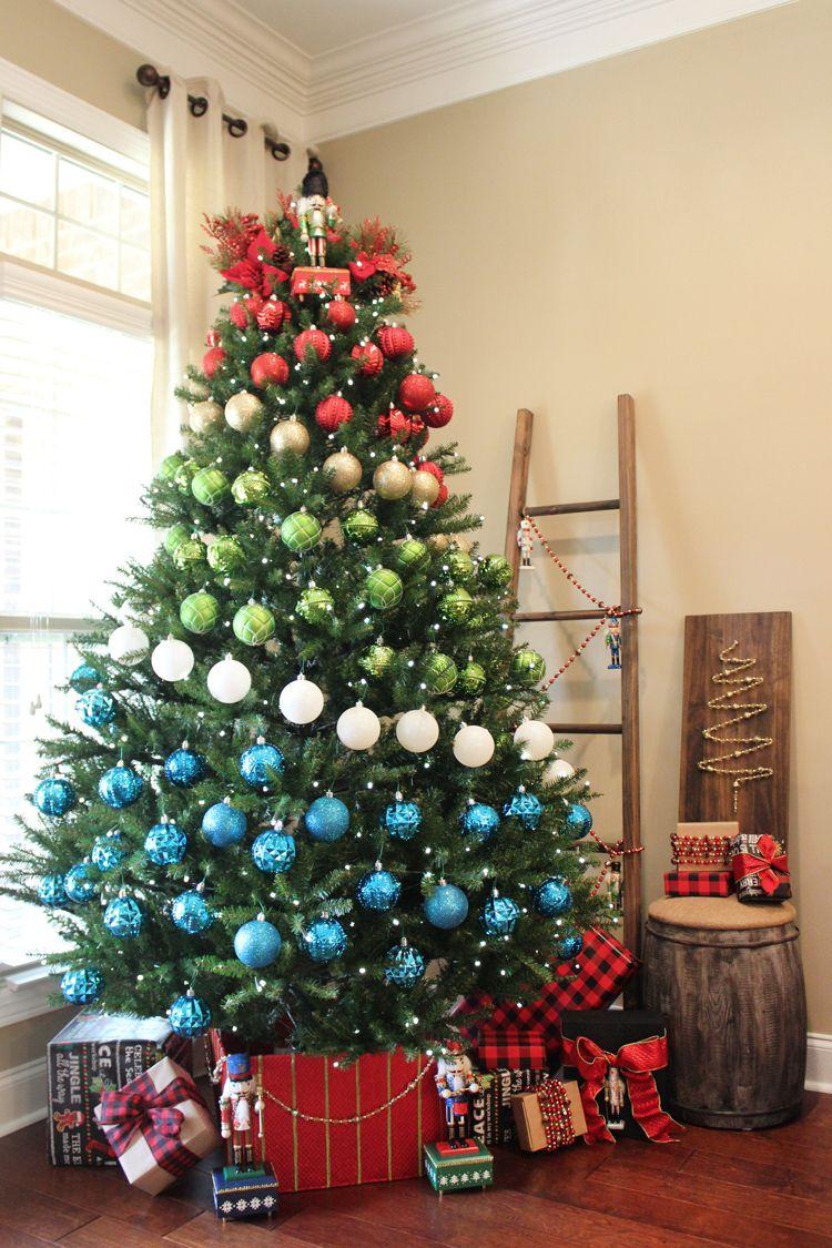 Slim Christmas Tree Purchased At Home Depot Pencil Christmas Tree Diy Christmas Tree Ornaments Slim Christmas Tree