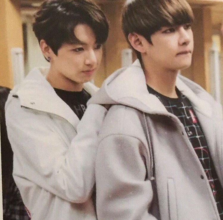 Vkook A Thread Of 태꾹 Habits Touching Each Other At The