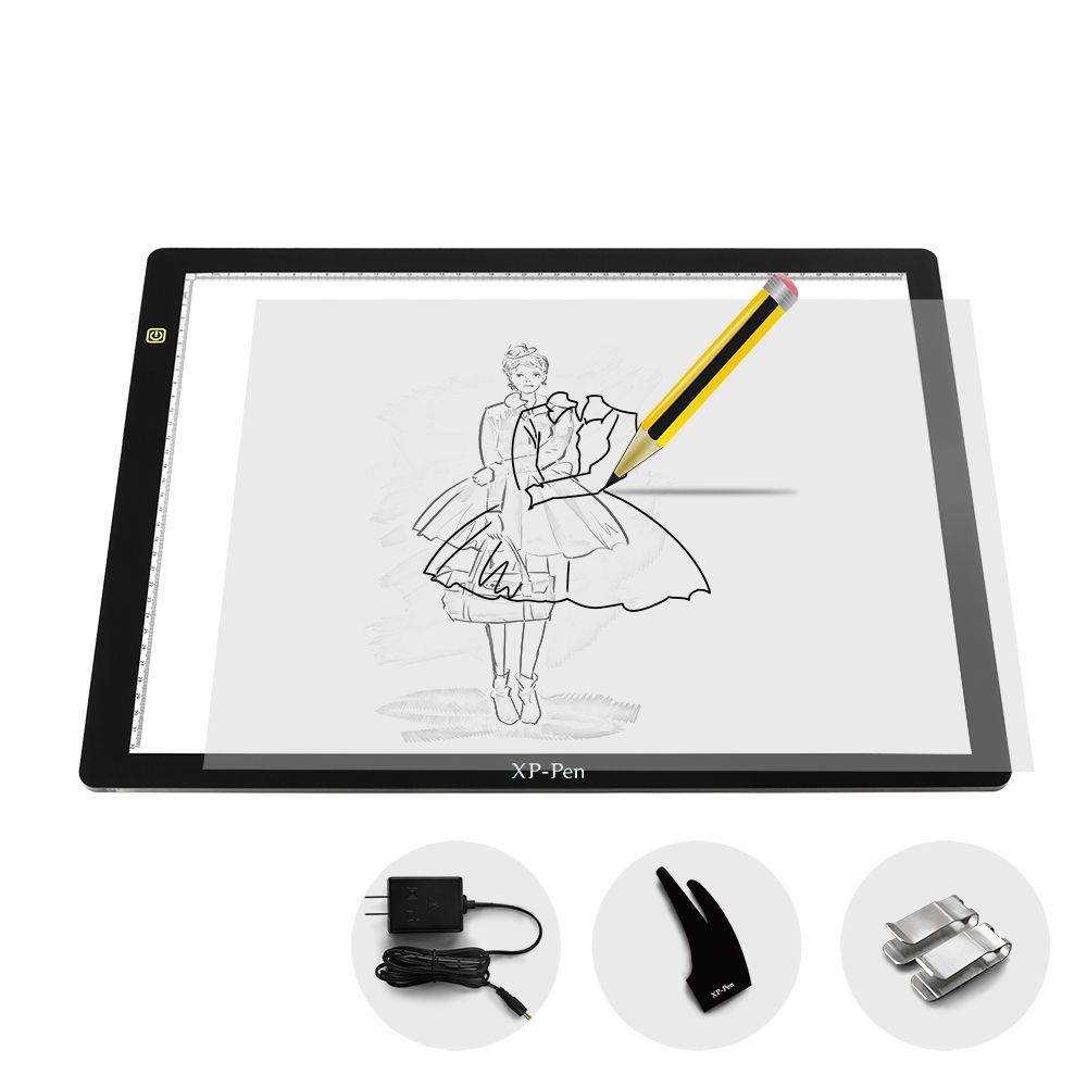 Xp pen cp a3 24 inch led art tracing light table light box xp pen cp a3 24 inch led art tracing light table light box dimmable drawing geotapseo Gallery